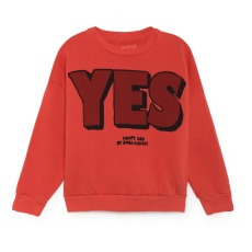 product-Bobo Choses Yes, No Organic Cotton Sweatshirt