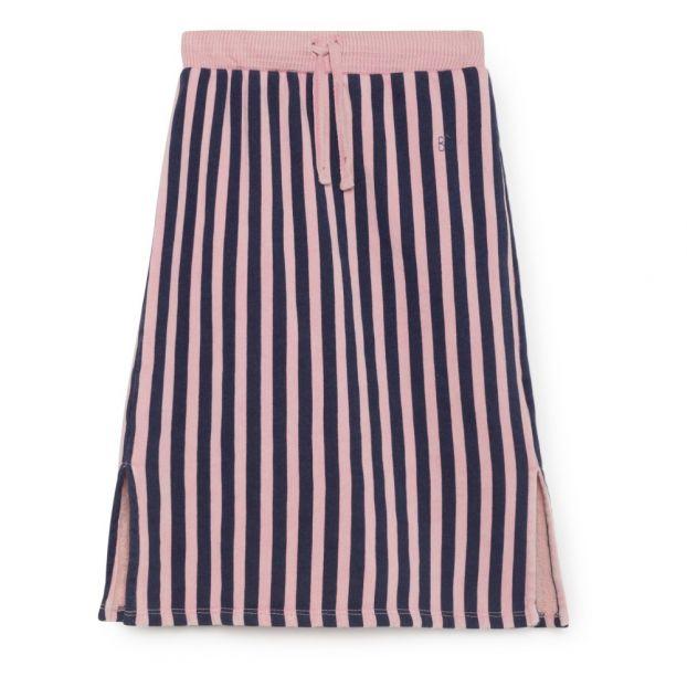 435154b0235c Organic Cotton Midi Skirt Pink Bobo Choses Fashion Children