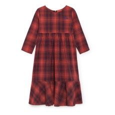 product-Bobo Choses Robe Longue Tartan