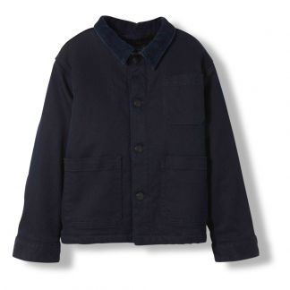 0e920b7e44d Finger in the nose Warren Velvet Jacket with Fur Collar -product