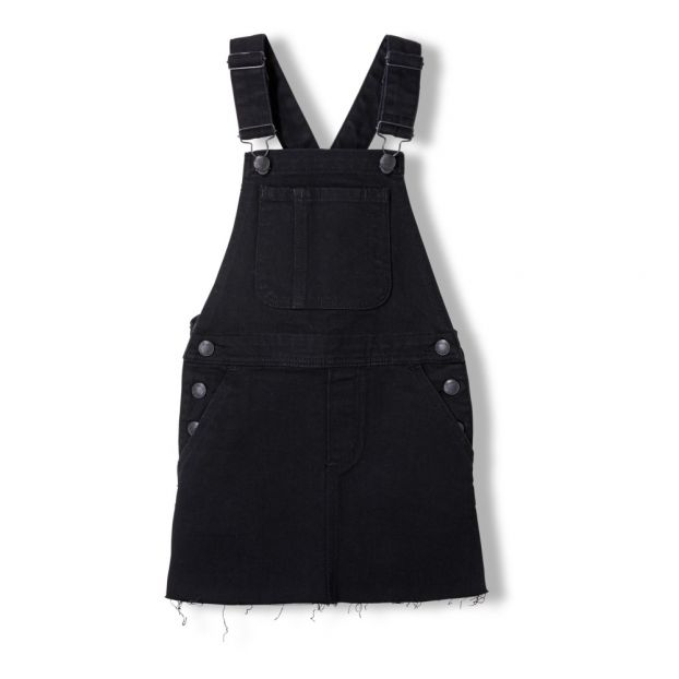 disfruta de un gran descuento Super baratas Boutique en ligne Vestido Peto Cherry Negro