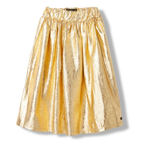 a8bcf8cef Party Maxi Skirt Gold Finger in the nose Fashion Teen , Children
