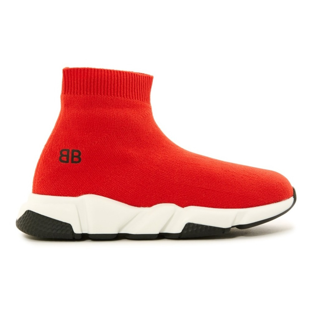 Speed Trainers Red Balenciaga Shoes