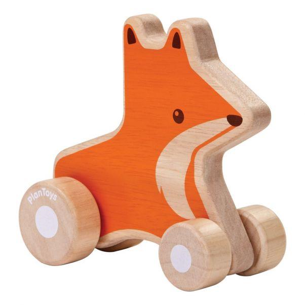 43a22e758e2a20 Renard en bois à roulettes Plan Toys Jouet et Loisir Enfant