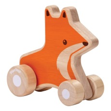 product-Plan Toys Wheeled Wooden Penguin