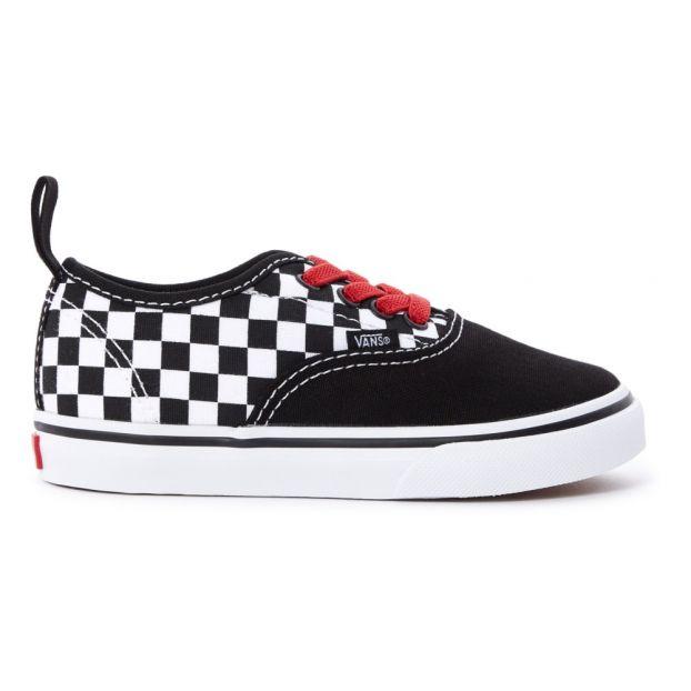 Noir Enfant Lacets Vans Authentic Chaussure Baskets Damier aYtcq