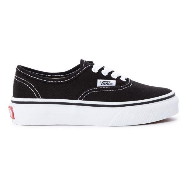 black vans trainers