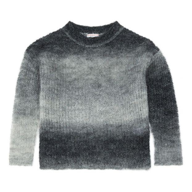 Pullover aus Wolle und Mohair Wolle Irsia Grau