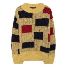 product-The Animals Observatory Arty Bull Alpaca Wool Jumper