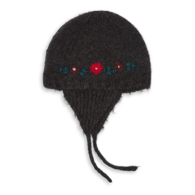 f8c98bae901d Floral Peruvian Hat Carbon Bonton Fashion Baby
