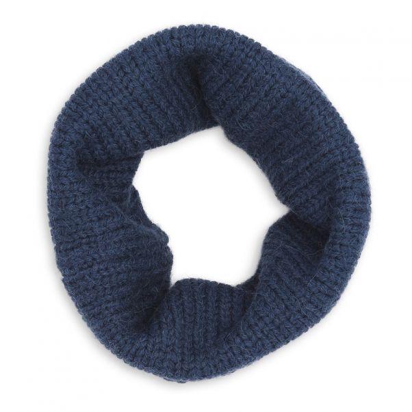 Echarpe Tube Bleu marine Bonton Mode Enfant 290acd04959