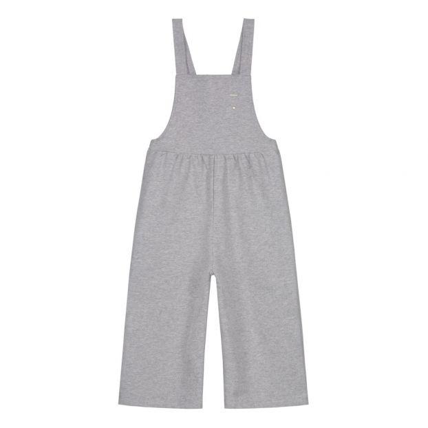 8147f1103 Organic Cotton Dungarees Grey Gray Label Fashion Baby