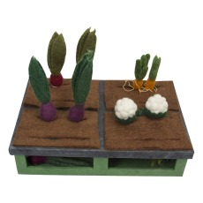 product-Papoose Felted Wool Garden - 16 Vegetables