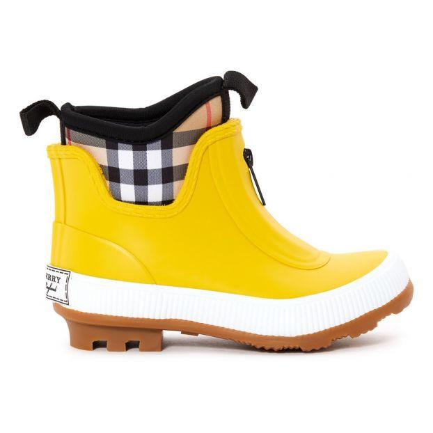 d3785b1de1d Chaussure Flinton De Enfant Jaune Bottes Pluie Burberry w4xqdOxRX