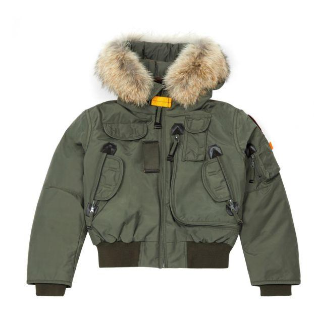 wholesale dealer bc53f 0c414 Bomber-Jacke Gobi Boy Dunkelgrün