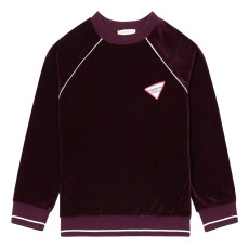 product-Hundred Pieces Electric Dreams Velvet Sweatshirt