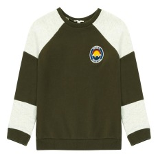 product-Hundred Pieces Nature Is The Future Two-Tone Sweatshirt