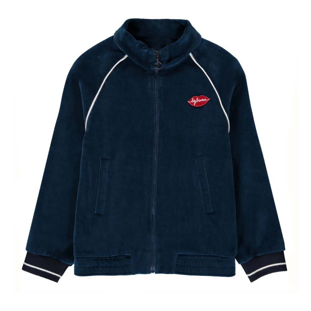 Sweatshirt Velours Big Bisous Idee
