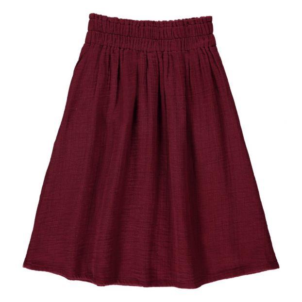 ee0f6d5b4 Maxi Skirt Burgundy Hundred Pieces Fashion Teen , Children