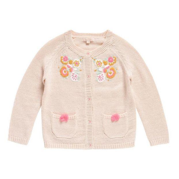 2c47bc38c8e Velika Alpaca Wool Cardigan Beige pink Louise Misha Fashion Baby
