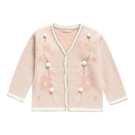 47f3a35a62c Estzi Alpaca Wool Cardigan Pale pink Louise Misha Fashion Teen
