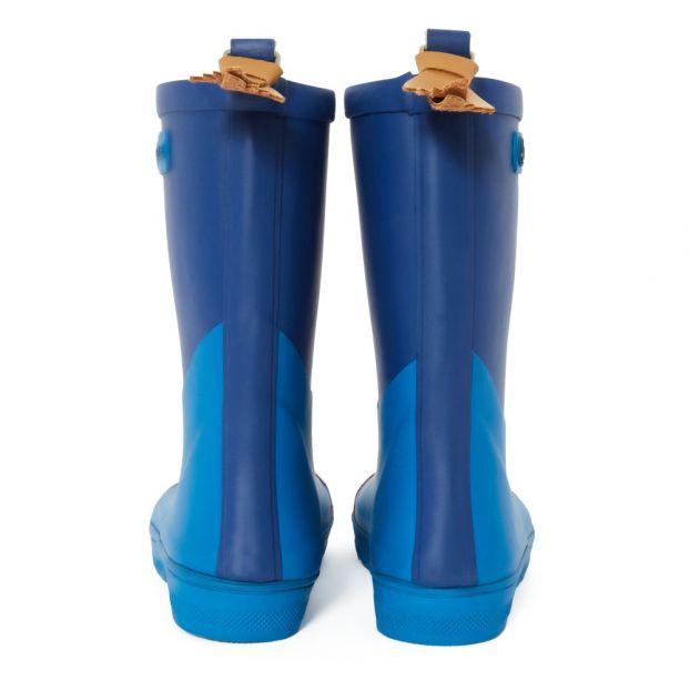 Stiefel Bi Material Woody Cross Königsblau