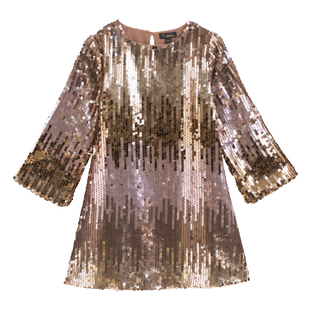 91386b9f977 Veronica Dress Gold Velveteen Fashion Children. «