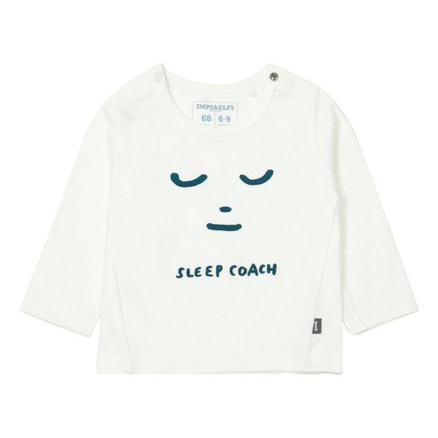 b41b6e0cd12 Sleep Coach Organic Cotton T-shirt White Imps   Elfs Fashion Baby