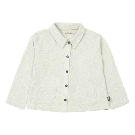 20df45620317a Organic Cotton Jacket Light eather grey Imps   Elfs Fashion Baby