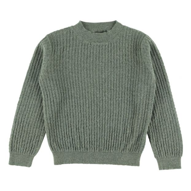 8f8fae404014 Rem Baby Alpaca Wool Jumper Green Aymara Fashion Teen