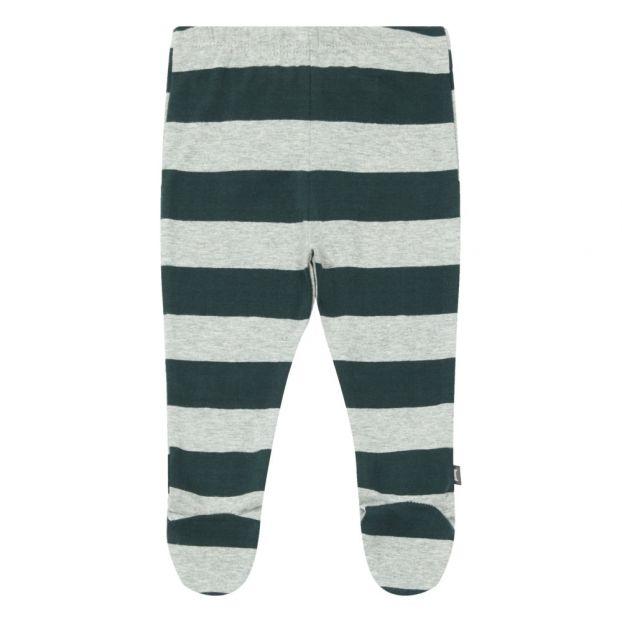 0d1f88c9d Organic Cototn Footed Leggings Grey-green Imps & Elfs Fashion