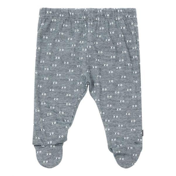 28dfd72583f Organic Cotton Footed Leggings Midnight blue Imps   Elfs Fashion