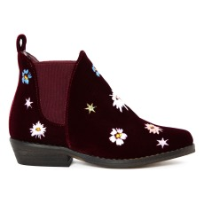 product-Stella McCartney Kids Boots Velours Broderies Lily