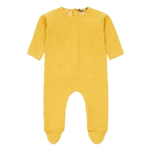 6a931ceb1 Kyu Organic Cotton Romper Yellow Gold Fashion Baby