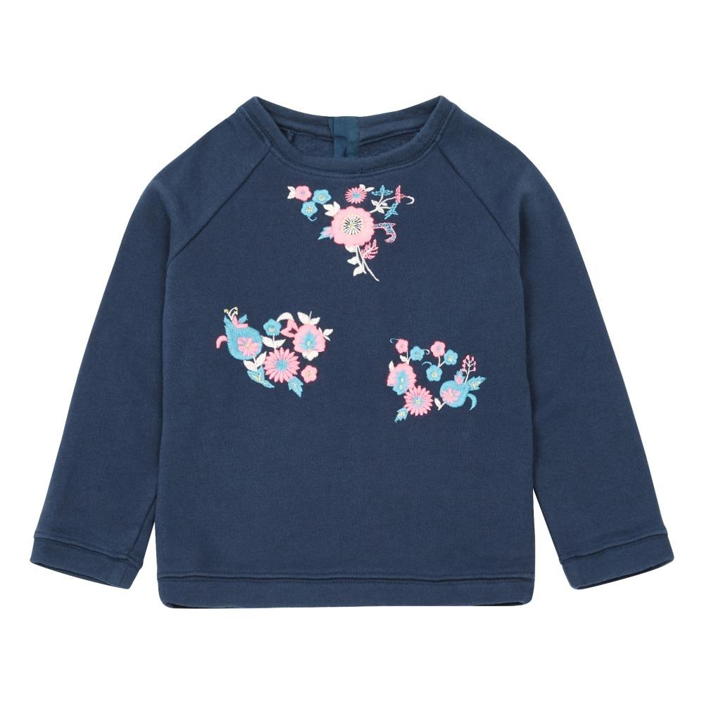 Neda Sweatshirt Midnight Blue Louise Misha Fashion Teen Shoes With Embroider 12 Inchi
