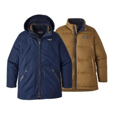 product-Patagonia 3 in 1 Waterproof Parka