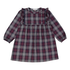 product-Petite Lucette Martine Checkered Dress