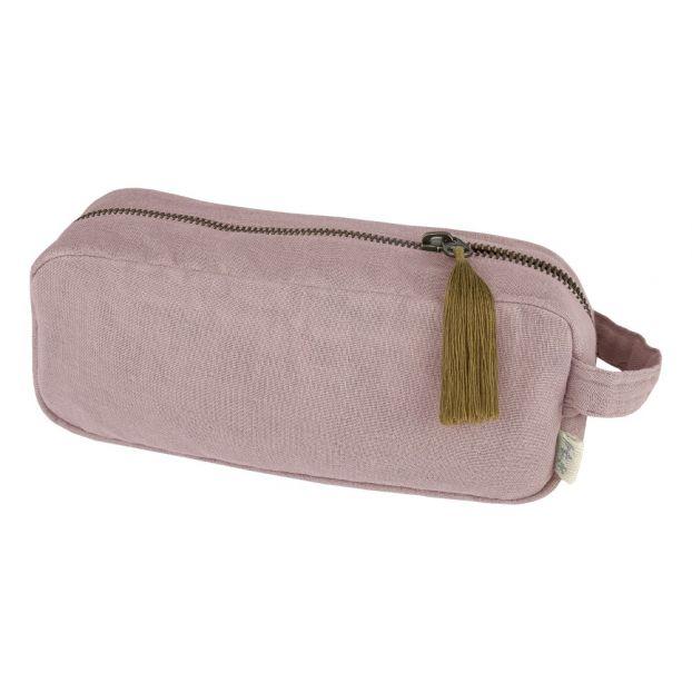 36f128de89e Trousse en coton bio Dusty Pink S007 Numero 74 Design Enfant