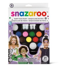 product-Snazaroo Party Kit - Brushes and Colours
