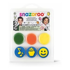 product-Snazaroo Face Paint Stamps - Birthday, 3 pieces