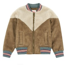 product-AO76 Faux Fur Baseball Jacket