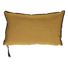 product-Maison de vacances Vice Versa Black Line Linen Cushion