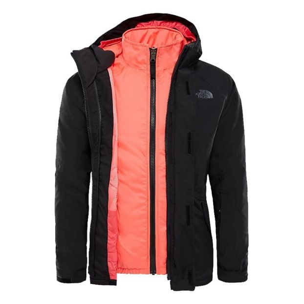 0b493a06d 3-in-1 Triclimate Kira Jacket Black The North Face Fashion Teen