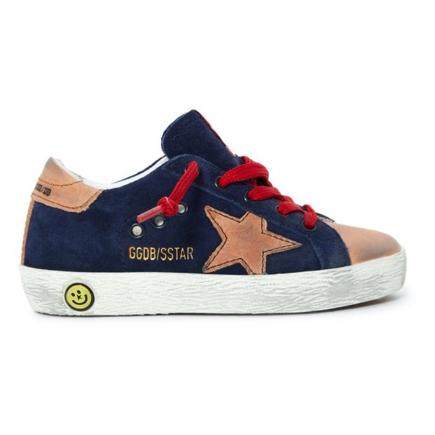 chaussures de sport f24b4 456e2 Baskets Suede Superstar Bleu