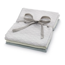product-Cam Cam Organic Cotton Swaddle - 3 Pieces