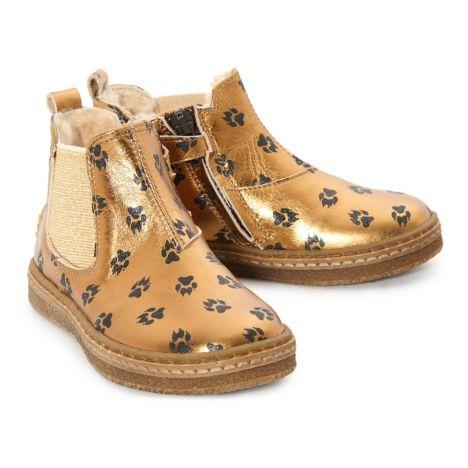 Fourrées Boots Chaussure BébéEnfant Ocra Doré uK1T3cJFl