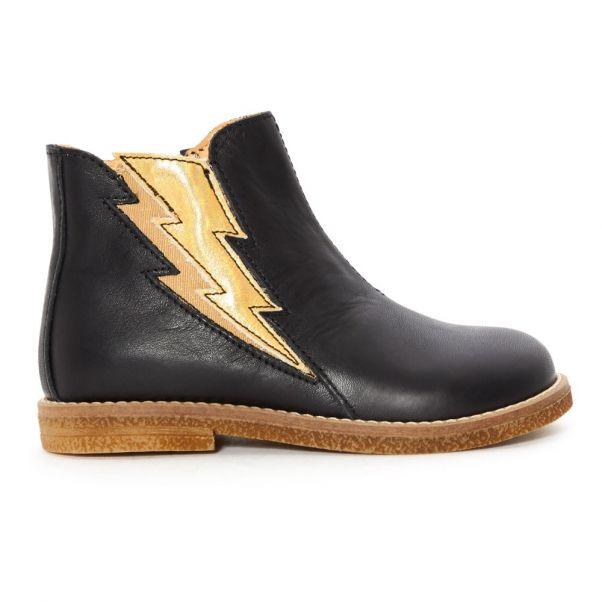 Boots Eclair Ocra Cuir Boots Zippées Cuir Zippées Ocra Eclair IBcqI8aS0w