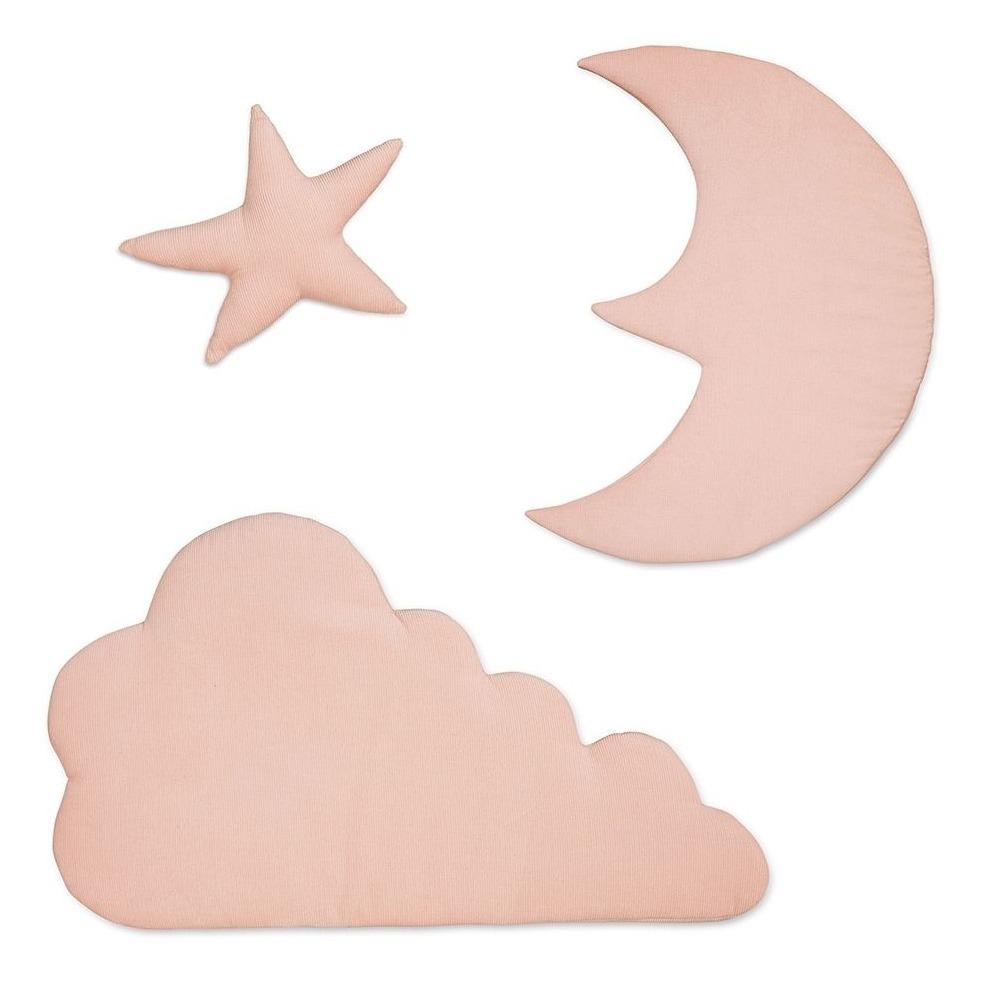 Augen auf: Wanddeko Mond, Stern, Wolke Bio