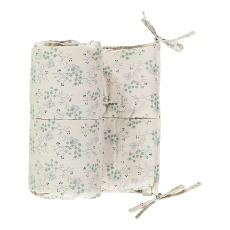 product-Camomile London Minako Floral Cotton Bed Bumper 190x35cm