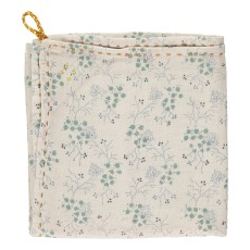 product-Camomile London Floral Hand Embroidered Lightweight Blanket/Swaddle